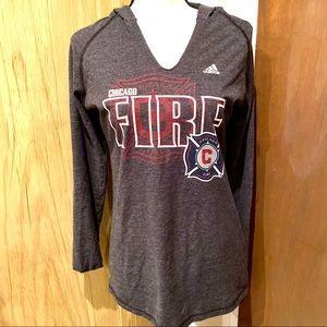 Chicago Fire Soccer Club Fan Hoodie M